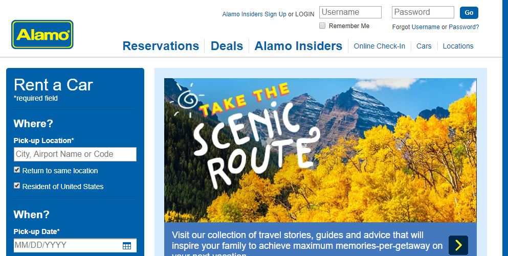 alamo car rental coupons