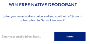 Native Special Coupon Code