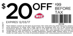 ShopWSS Black Friday Deals Don't miss out on Black Friday discounts, sales, promo codes, coupons, and more from ShopWSS! Check here for any early-bird specials and the official ShopWSS sale. Don't forget to check for any Black Friday free shipping offers!