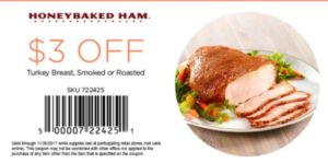 picture regarding Honey Baked Ham Printable Coupons titled 101% (Very hot) ! Honey Baked Ham Discount coupons (Aug. 2019) Promo Code